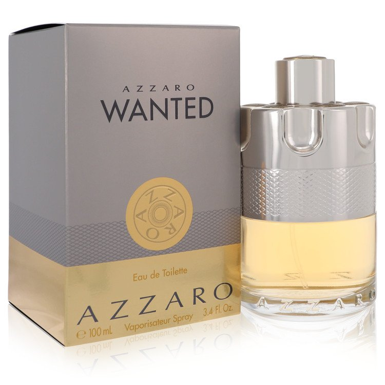 Azzaro Wanted Cologne by Azzaro 3.4 oz EDT Spray for Men