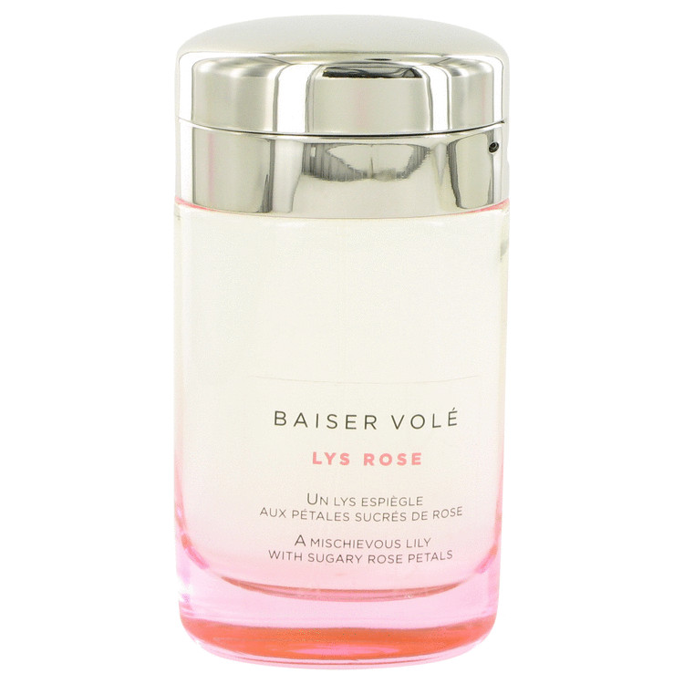 Baiser Vole Lys Rose Perfume 3.3 oz EDT Spray(Tester) for Women