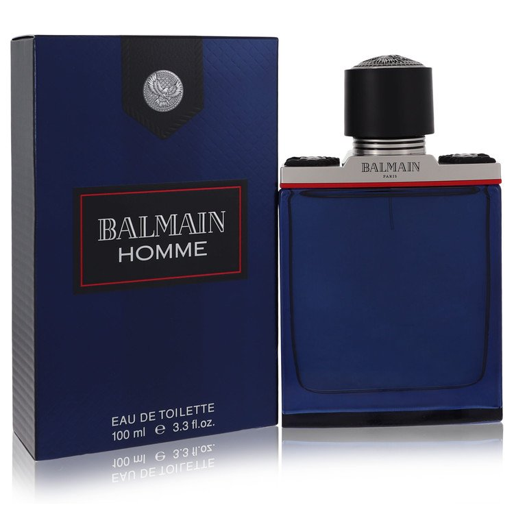 Balmain Homme Cologne by Balmain 3.4 oz EDT Spray for Men