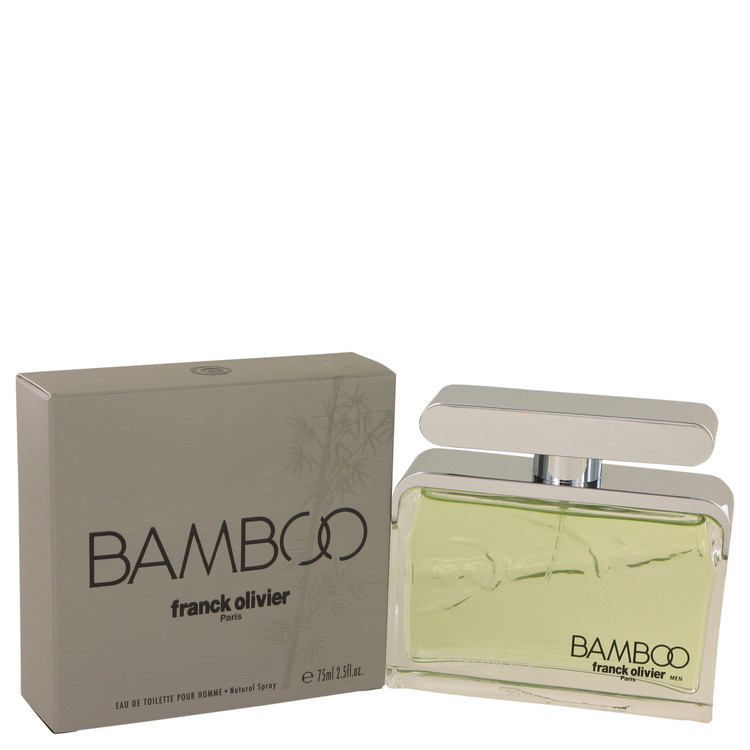 Bamboo Franck Olivier by Franck Olivier for Men Eau De Toilette Spray 2.5 oz