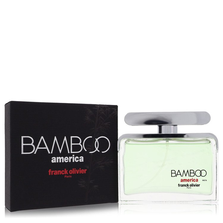 Bamboo America by Franck Olivier for Men Eau De Toilette Spray 2.5 oz