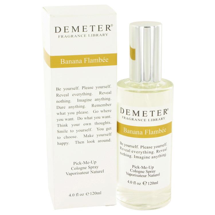 Demeter Perfume by Demeter 4 oz Banana Flambee Cologne Spray for Women