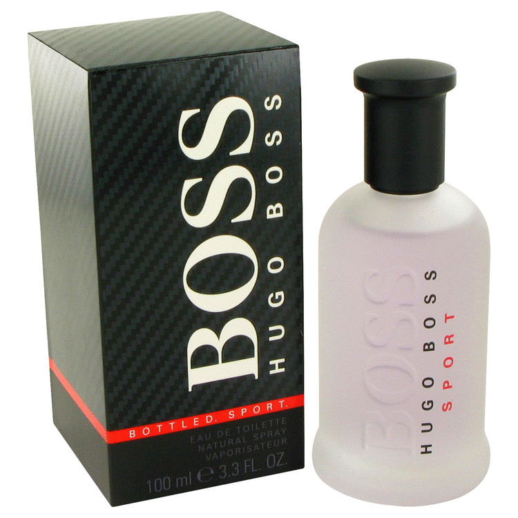 Boss Bottled Sport by Hugo Boss for Men Eau De Toilette Spray 3.3 oz