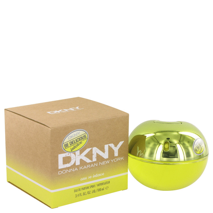 Be Delicious Eau So Intense by Donna Karan for Women Eau De Parfum Spray 3.4 oz