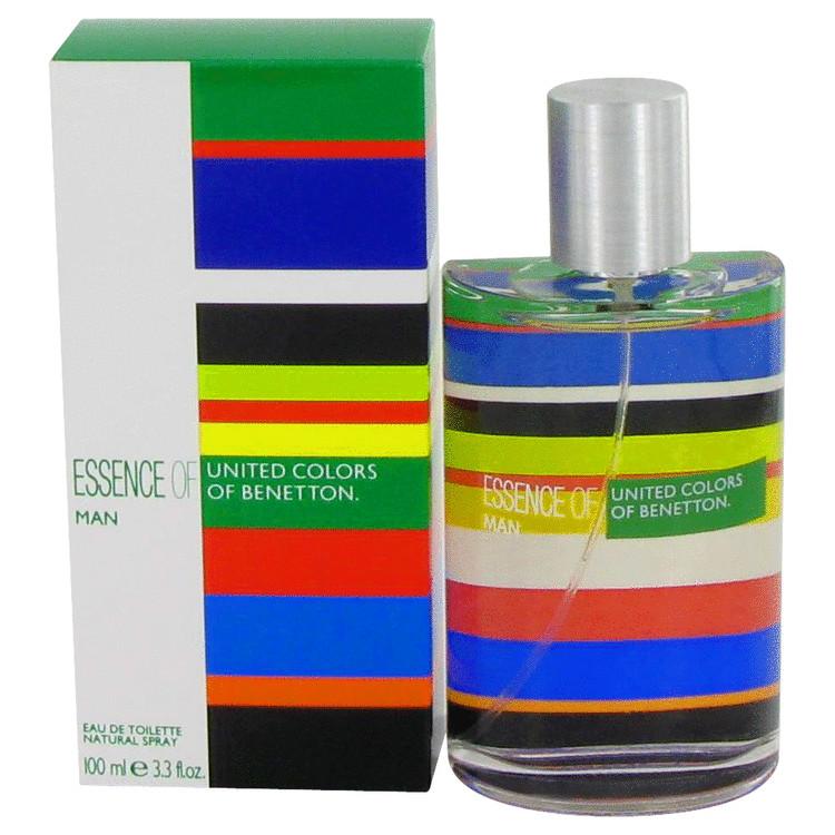 Benetton Essence Cologne by Benetton 3.3 oz EDT Spay for Men