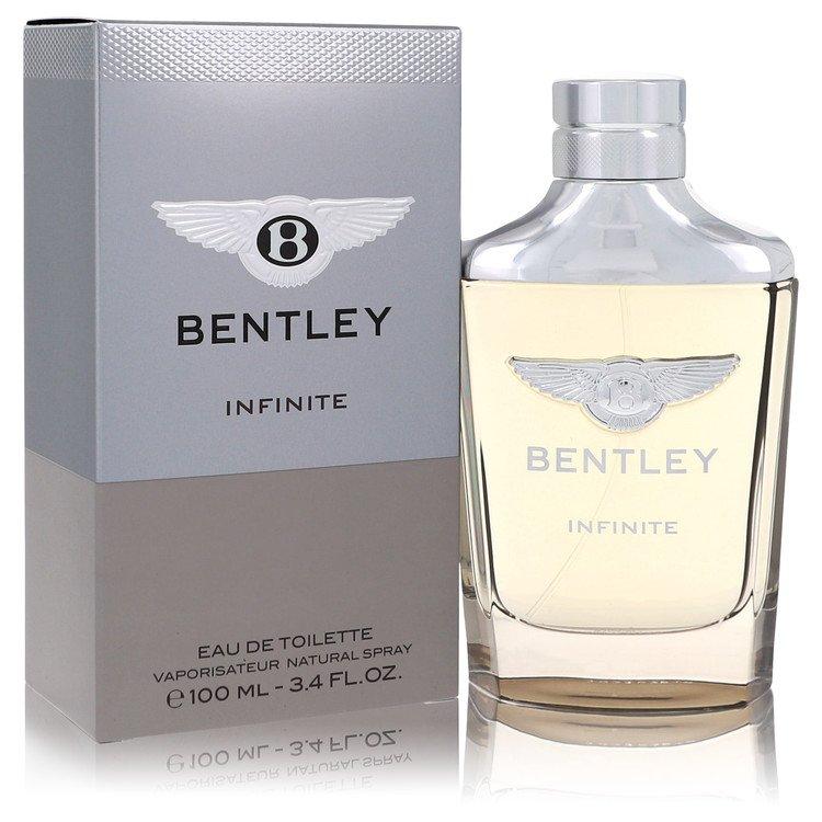 Bentley Infinite by Bentley for Men Eau De Toilette Spray 3.4 oz