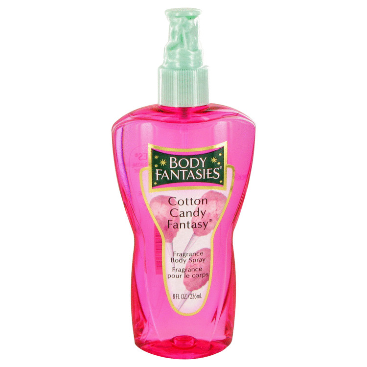 Body Fantasies Cotton Candy Fantasy Perfume 8 oz Body Spray for Women