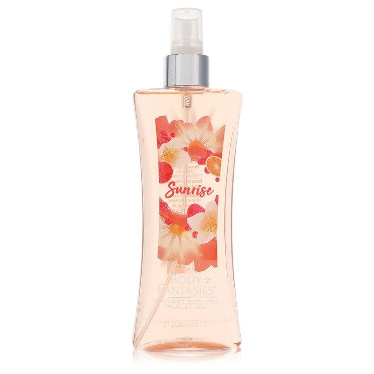 Body Fantasies Signature Sweet Sunrise Fantasy by Parfums De Coeur for Women Body Spray 8 oz