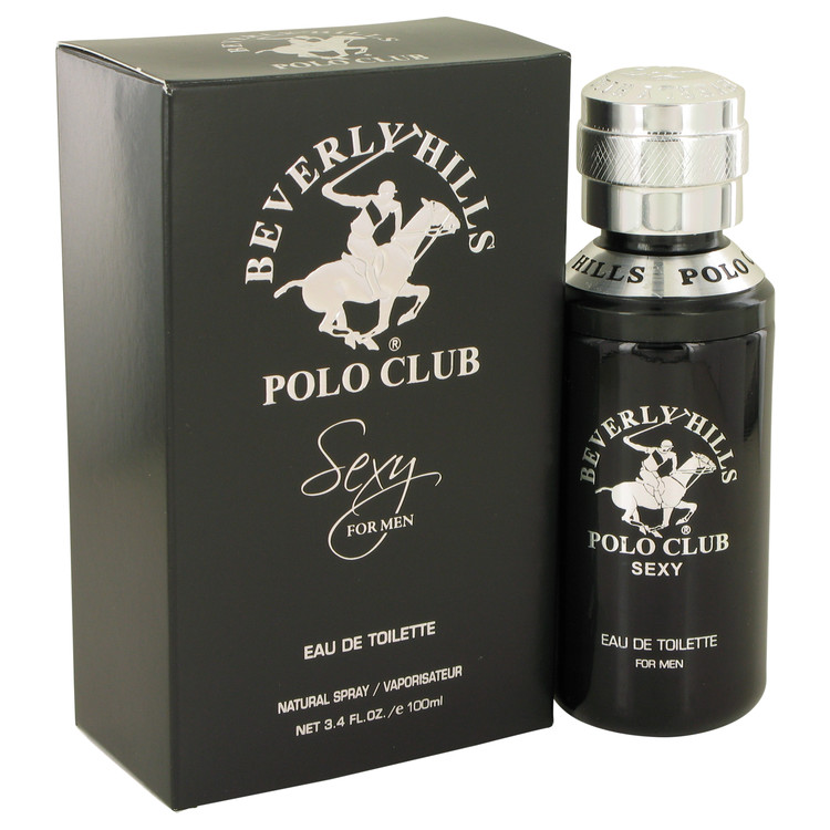 Beverly Hills Polo Club Sexy by Beverly Fragrances for Men Eau De Toilette Spray 3.4 oz