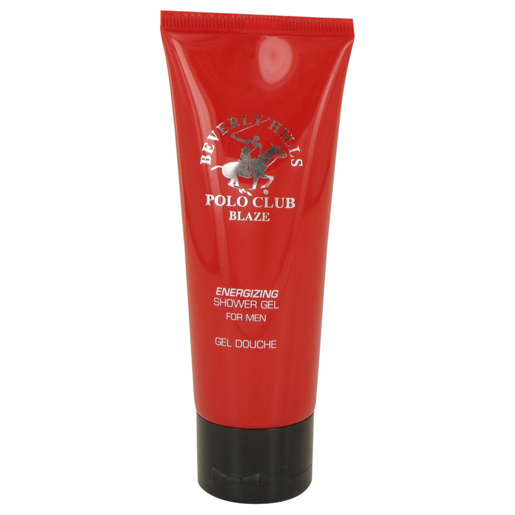 Beverly Hills Polo Club Blaze by Beverly Fragrances for Men Shower Gel 2.5 oz