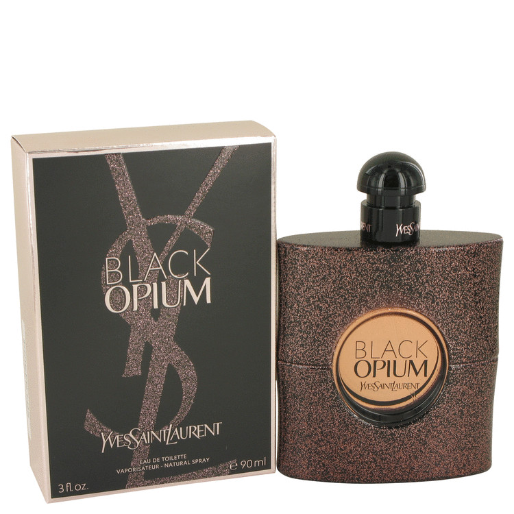 Black Opium by Yves Saint Laurent for Women Eau De Toilette Spray 3 oz