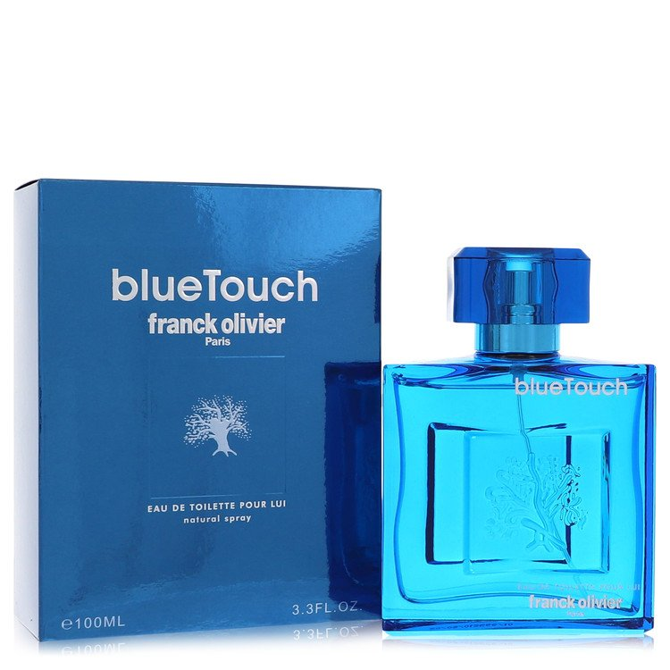Blue Touch by Franck Olivier for Men Eau De Toilette Spray 3.4 oz