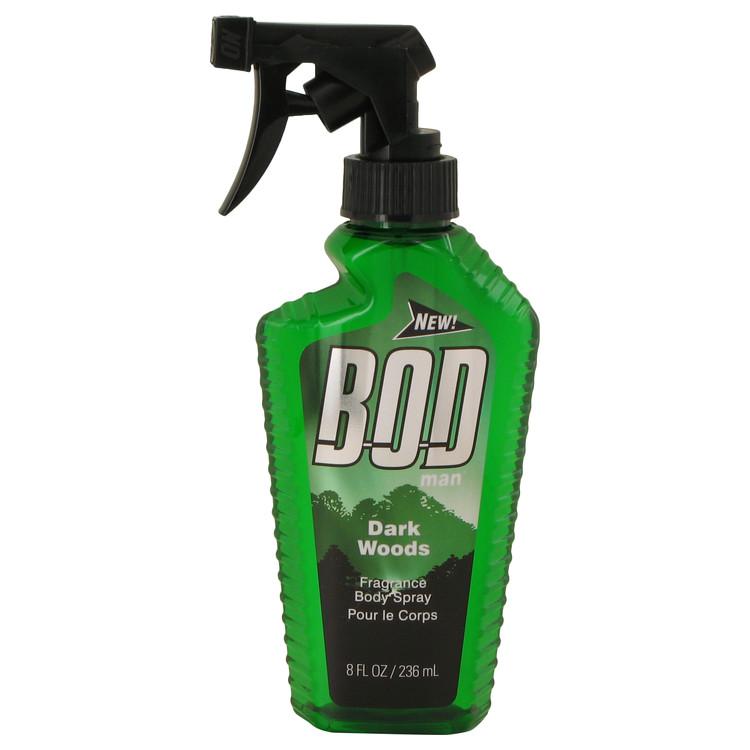 Bod Man Dark Woods by Parfums De Coeur Body Spray 8 oz