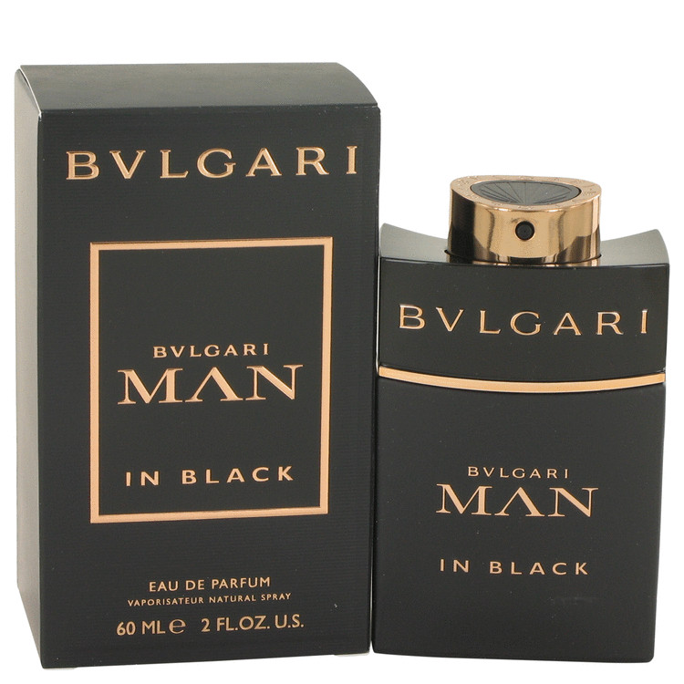 Bvlgari Man In Black by Bvlgari for Men Eau De Parfum Spray 2 oz
