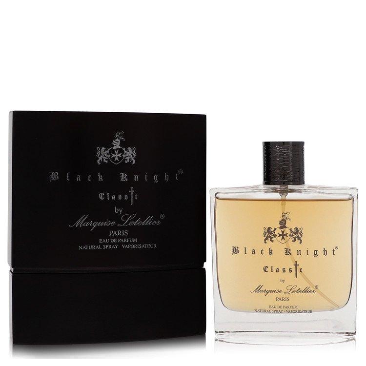 Black Knight Classic by Marquise Letellier Men's Eau De Parfum Spray 3.3 oz