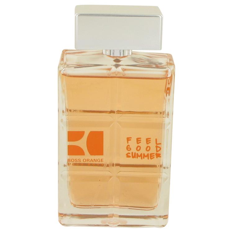 Boss Orange Feel Good Summer by Hugo Boss for Men Eau DeToilette Spray (Tester) 3.3 oz