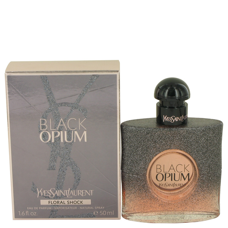 Black Opium Floral Shock by Yves Saint Laurent Eau De Parfum Spray 1.7 oz