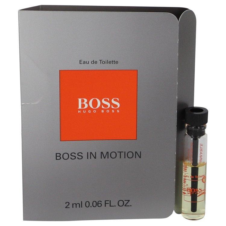 Boss In Motion by Hugo Boss for Men Vial (sample) .05 oz