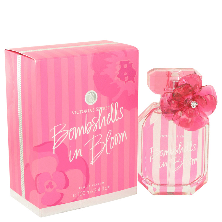 Bombshells In Bloom by Victoria's Secret for Women Eau De Parfum Spray 3.4 oz