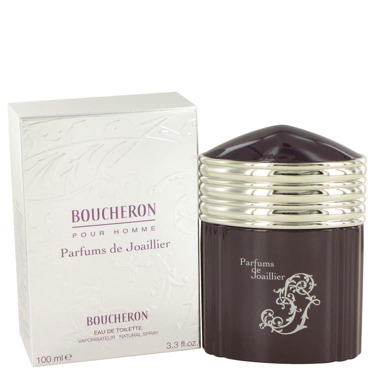 Boucheron Parfums De Joaillier Cologne 3.3 oz EDT Spay for Men