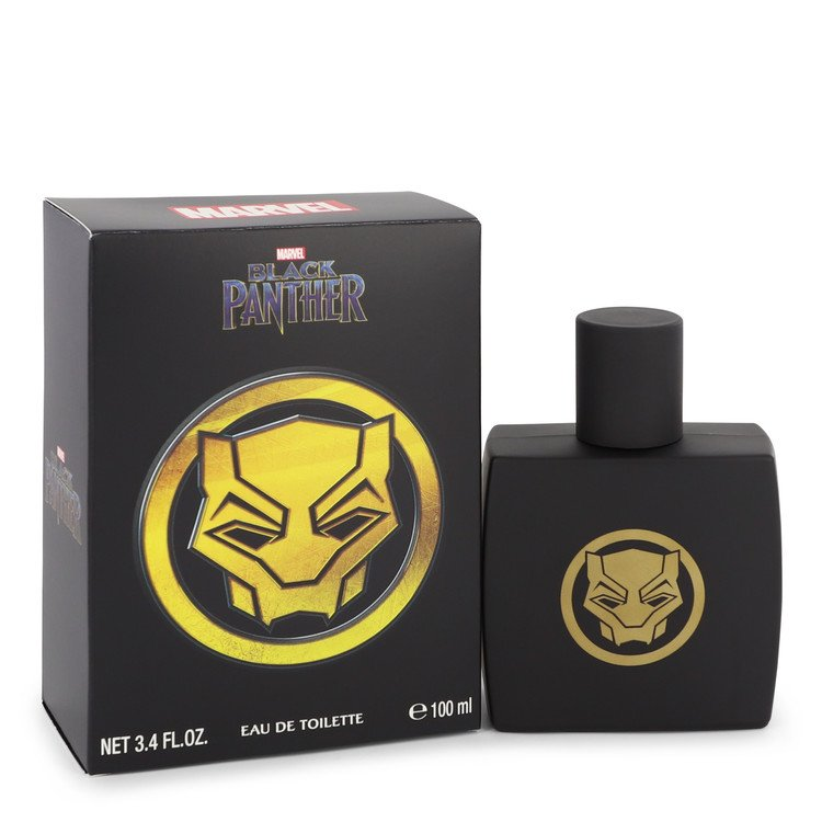 BLACK PANTHER Marvel by Marvel –  Eau De Toilette Spray 3.4 oz 100 ml for Men