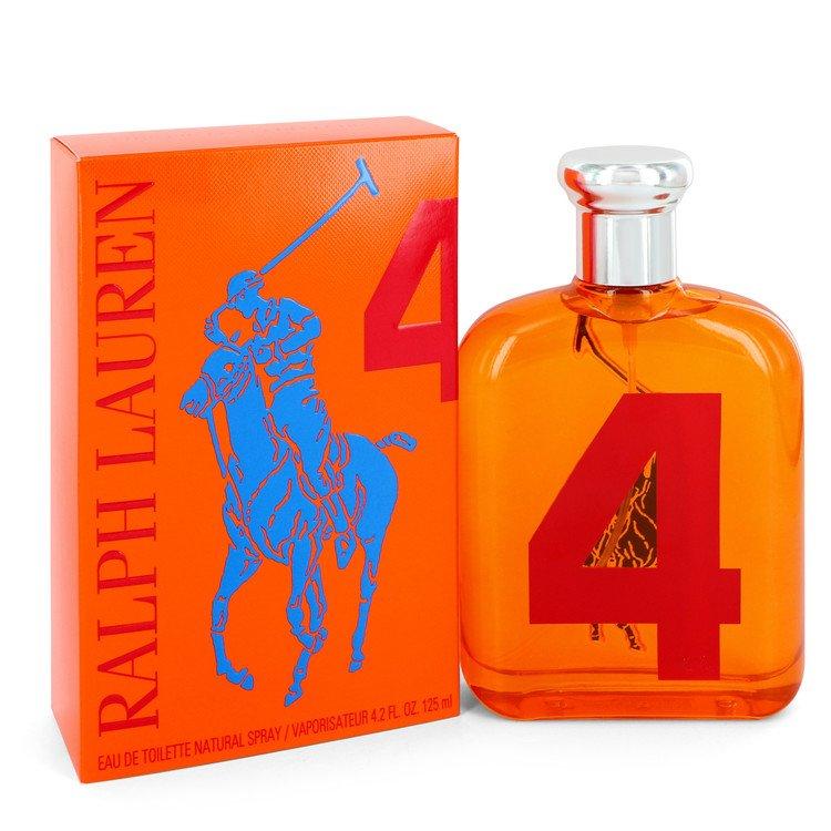 Big Pony Orange Cologne by Ralph Lauren 4.2 oz EDT Spay for Men