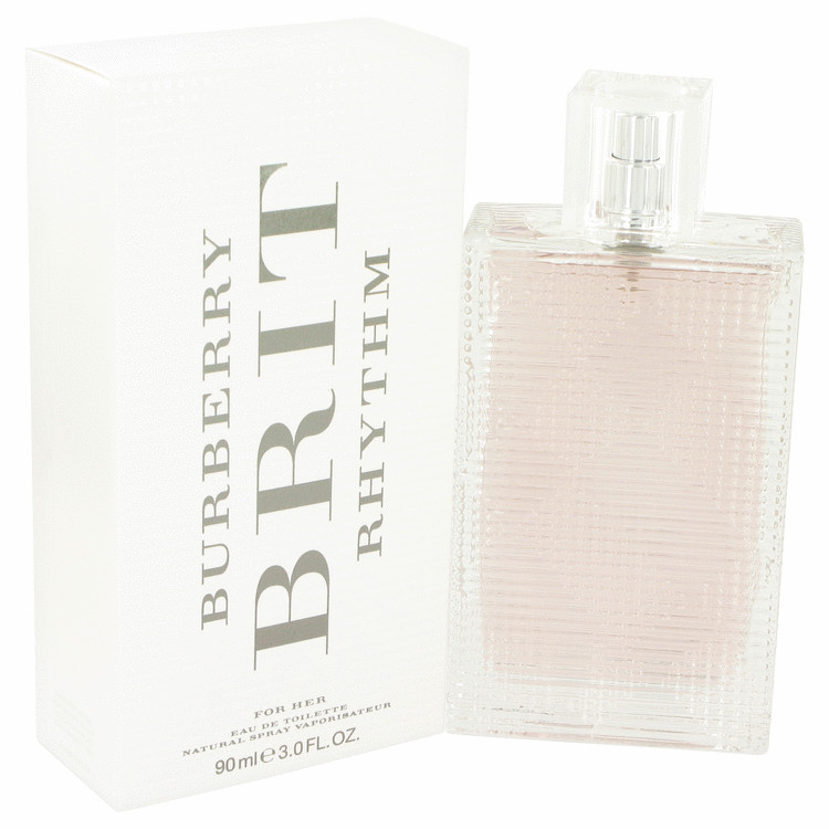 Burberry Brit Rhythm by Burberry for Women Eau De Toilette Spray 3 oz