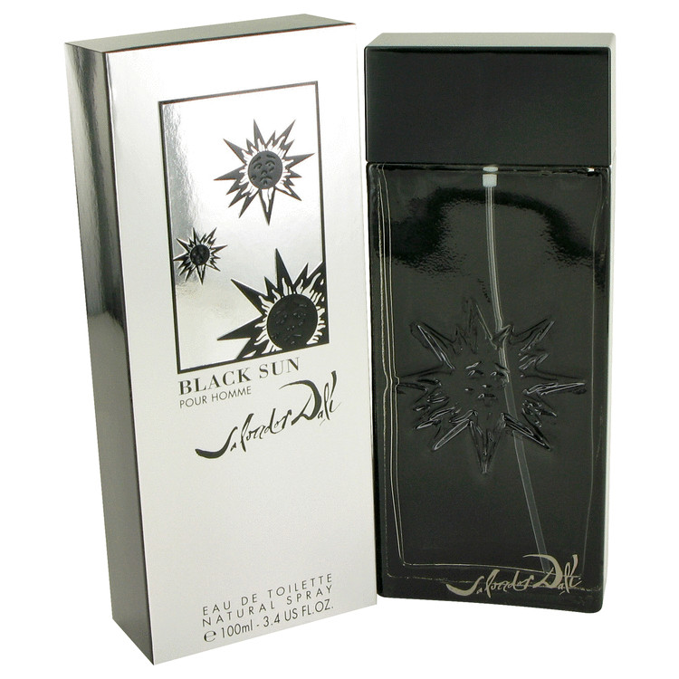 Black Sun by Salvador Dali for Men Eau De Toilette Spray 3.4 oz
