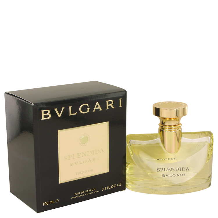 Bvlgari Splendida Iris D'or by Bvlgari for Women Eau De Parfum Spray 3.4 oz