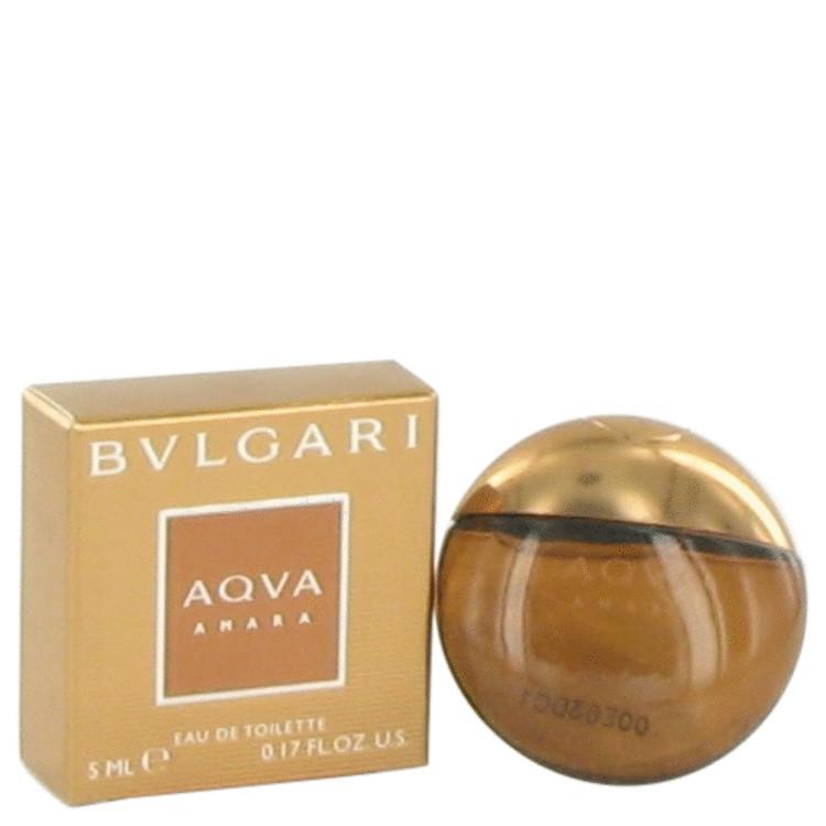 Bvlgari Aqua Amara by Bvlgari for Men Mini Edt .17 oz
