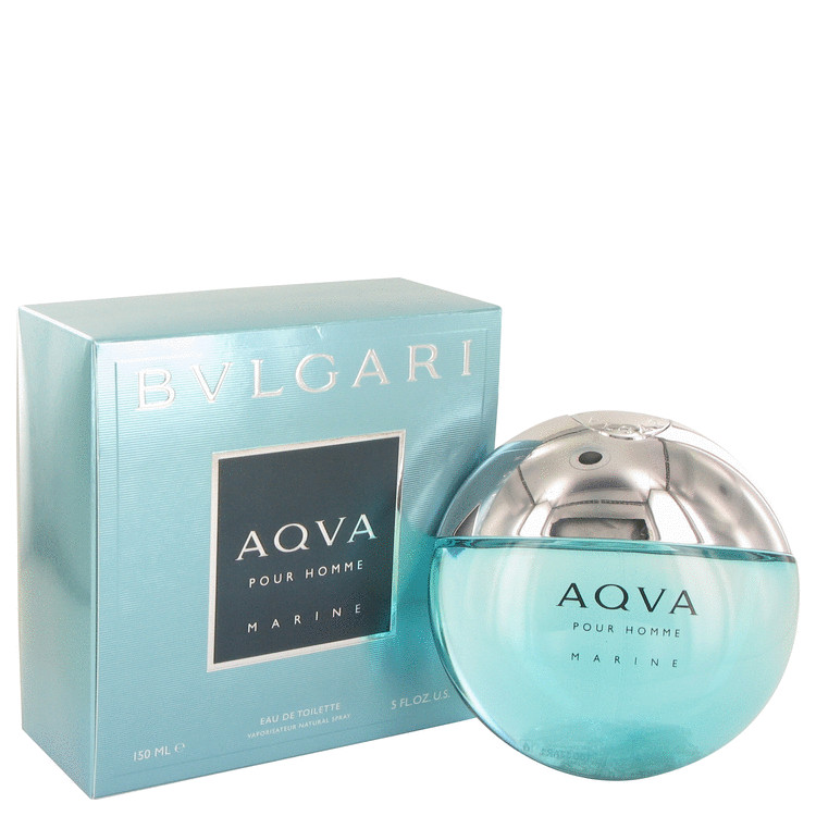 Bvlgari Aqua Marine by Bvlgari for Men Eau De Toilette Spray 5 oz