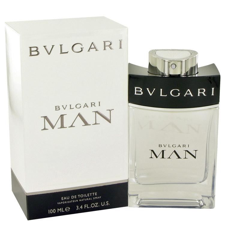 Bvlgari Man Cologne by Bvlgari 3.4 oz EDT Spray for Men