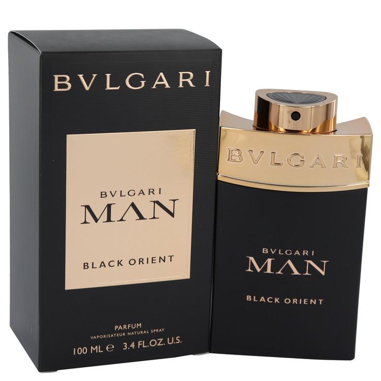 Bvlgari Man Black Orient by Bvlgari for Men Eau De Parfum Spray 3.4 oz