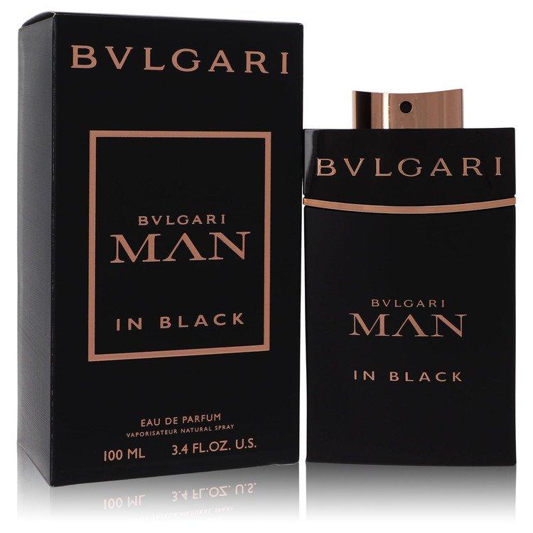 Bvlgari Man In Black by Bvlgari for Men Eau De Parfum Spray 3.4 oz