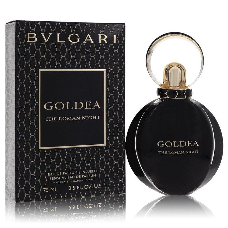 Bvlgari Goldea The Roman Night by Bvlgari –  Eau De Parfum Spray 2.5 oz 75 ml for Women