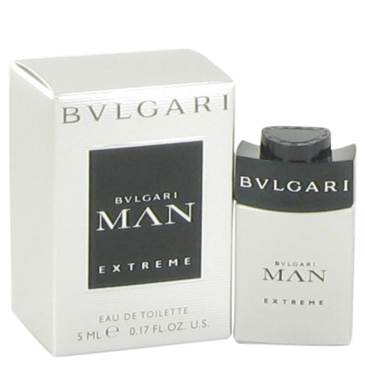 Bvlgari Man Extreme by Bvlgari for Men Mini EDT .17 oz