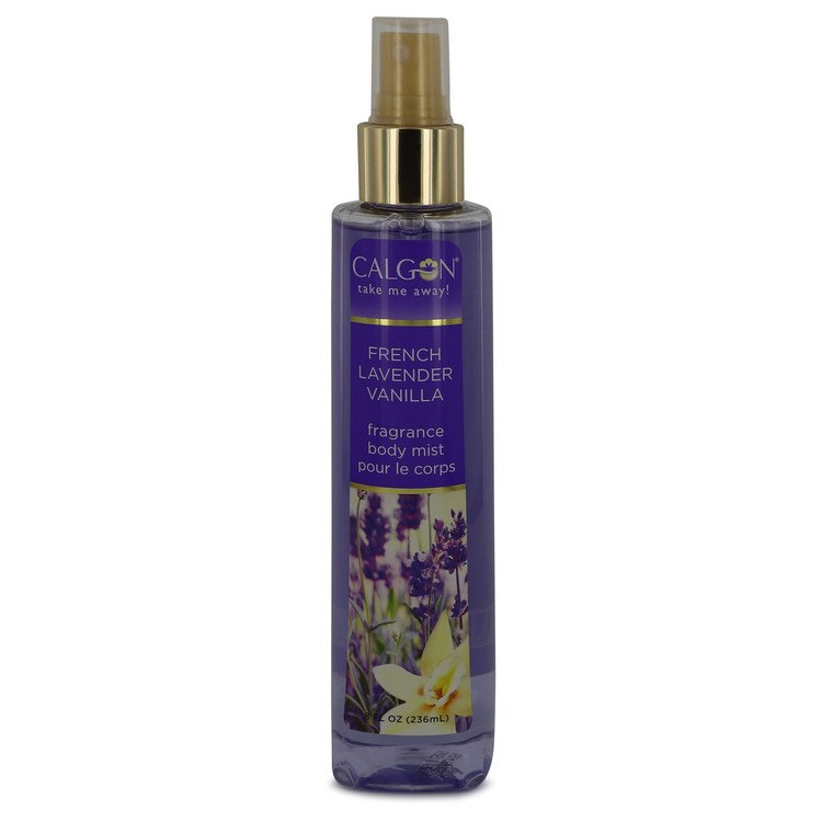Calgon Take Me Away French Lavender Vanilla by Calgon for Women Body Mist 8 oz