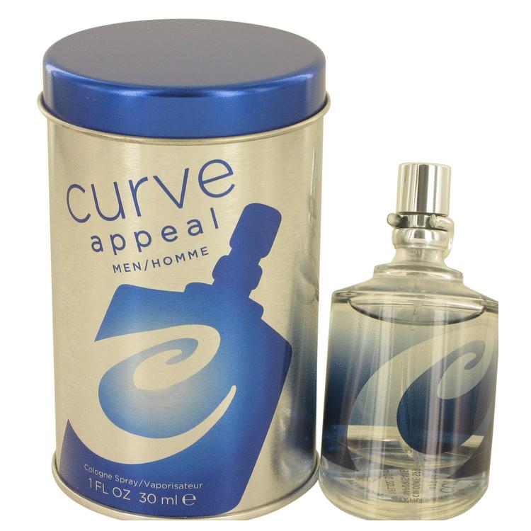 Curve Appeal by Liz Claiborne for Men Cologne Spray 1 oz