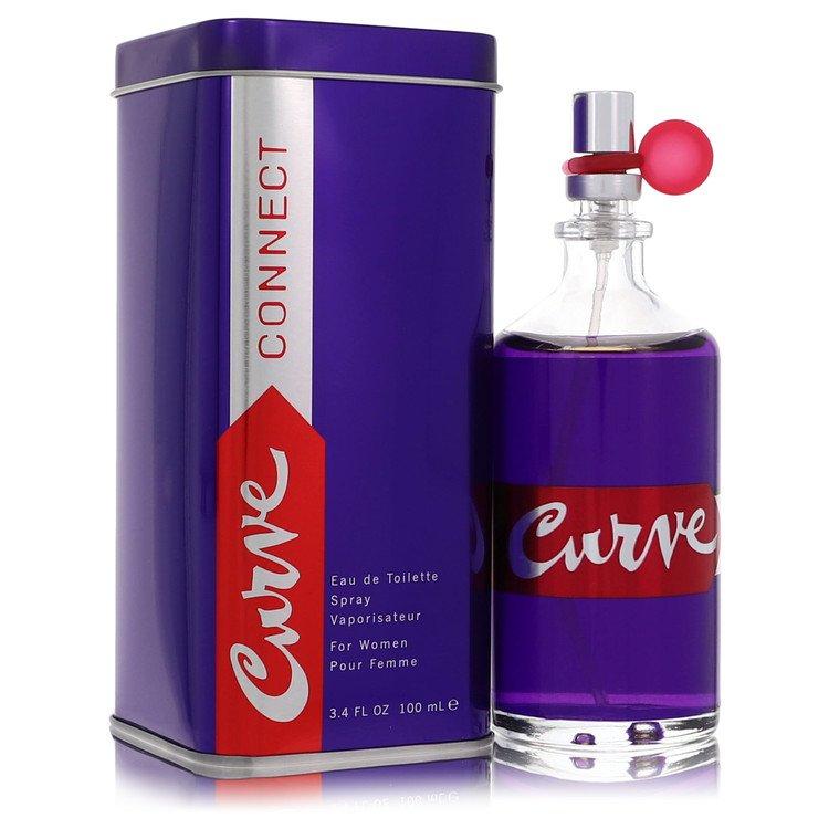 Curve Connect by Liz Claiborne for Women Eau De Toilette Spray 3.4 oz