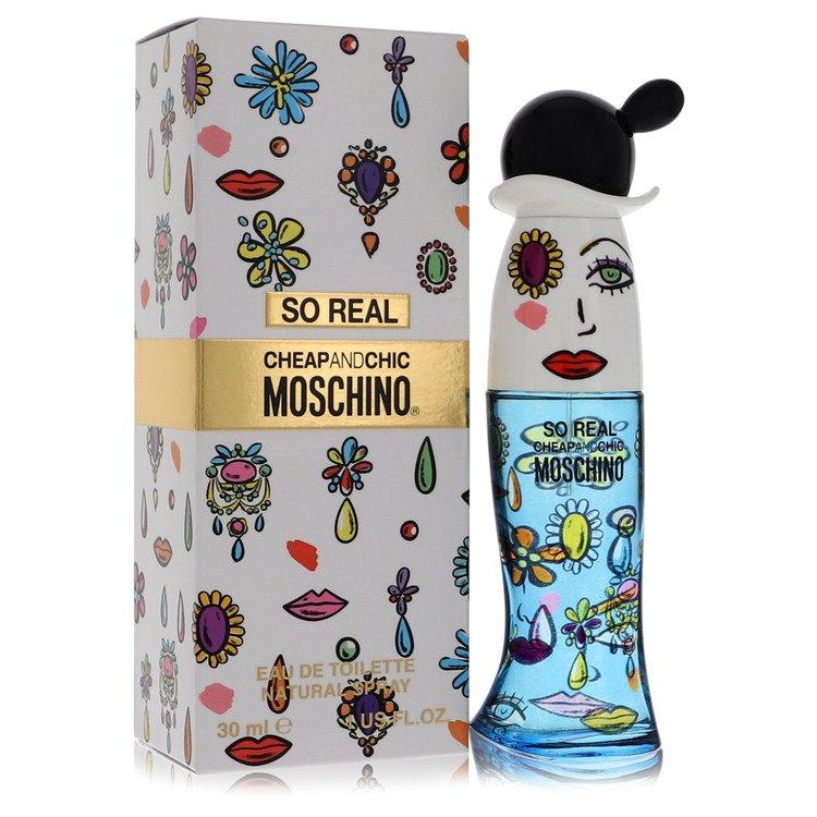 Cheap & Chic So Real by Moschino –  Eau De Toilette Spray 1 oz 30 ml for Women