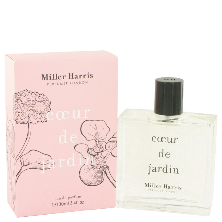 Coeur De Jardin by Miller Harris for Women Eau De Parfum Spray 3.4 oz