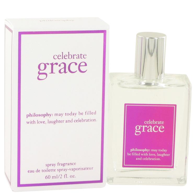 Celebrate Grace by Philosophy for Women Eau De Toilette Spray 2 oz