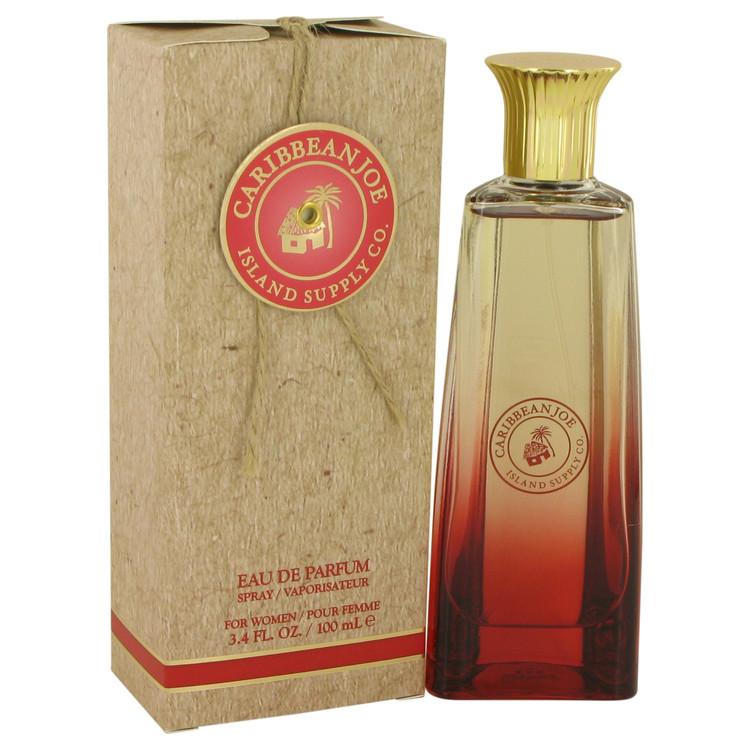 Caribbean Joe Island Supply by Caribbean Joe for Women Eau De Parfum Spray 3.4 oz