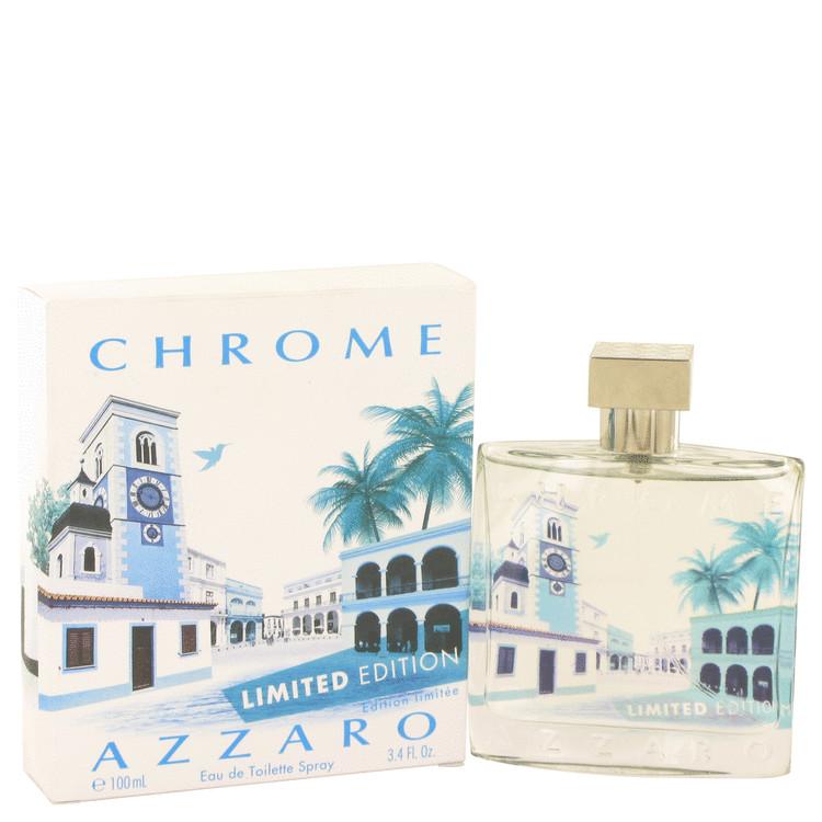 Chrome Summer Cologne 3.4 oz EDT Spray (Limited Edition 2014) for Men