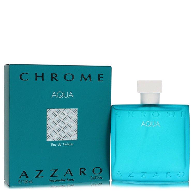 Chrome Aqua by Azzaro Men's Eau De Toilette Spray 3.4 oz