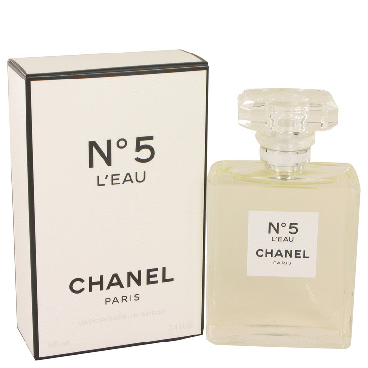 Chanel No. 5 L'eau Perfume by Chanel 3.4 oz EDT Spay for Women