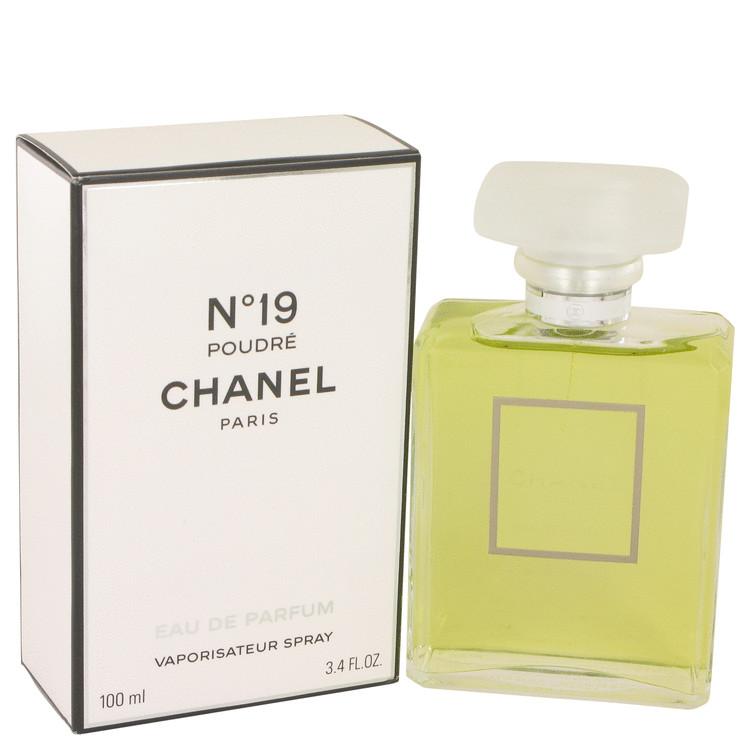 Chanel 19 Poudre by Chanel for Women Eau De Parfum Spray 3.4 oz