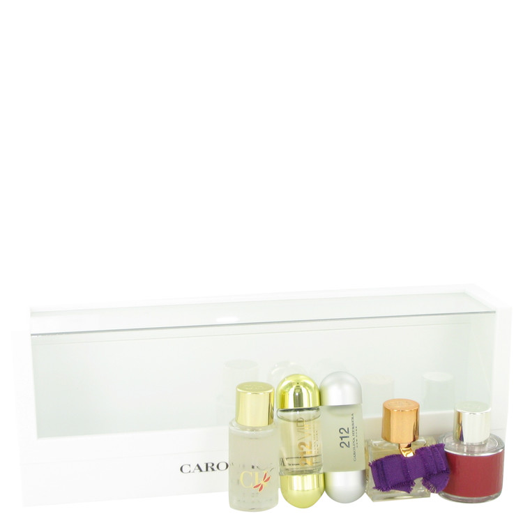 Ch Carolina Herrera for Women, Gift Set (Mini Set includes 212, 212 VIP, CH, CH EDP Sublime, and CH L'eau in beautiful gift box.)