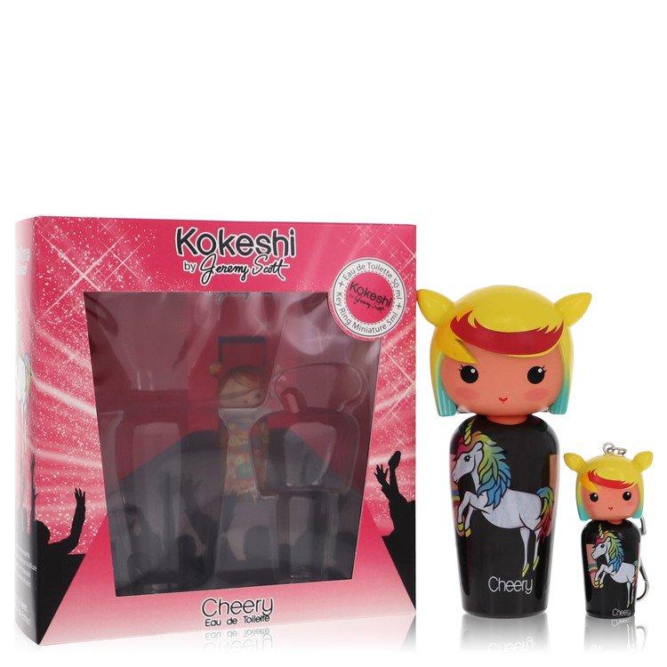Kokeshi Cheery by Kokeshi Women's Eau De Toilette Spray + Free Key Ring Mini EDT Spray 1.7 oz