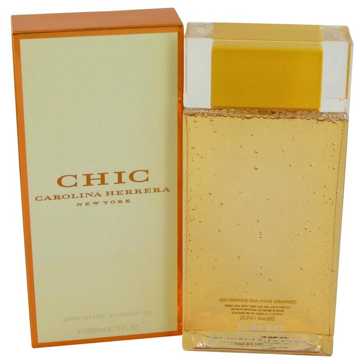 Chic Shower Gel by Carolina Herrera 6.8 oz Shower Gel for Women